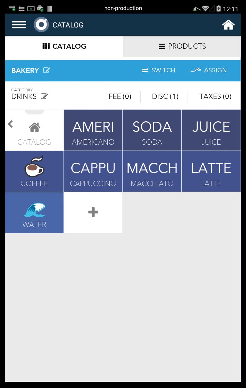 Catalog + Register App: Taxes, Discounts, and Fees – Poynt Help Center