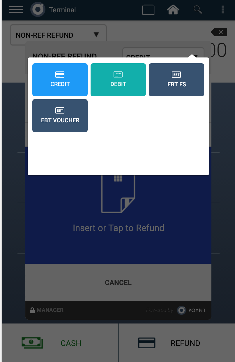 Blue apron ebt - Select Non Reference Refund From Dropdown Select Ebt Fs Swipe Prompt For Customer Screen Pin Entry Receipt Prompts